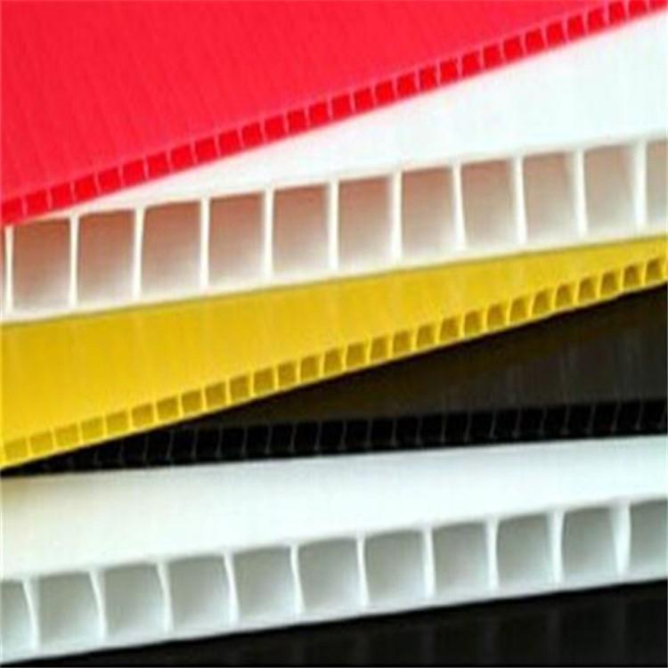 塑胶pp中空板广告板展示架的广告展示工艺