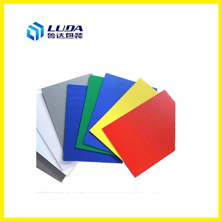 PP中空板的色彩是怎样进行调配?