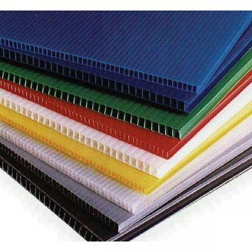 厂家直销塑料中空板箱 黑色防静电万通板瓦楞板塑料中空板箱