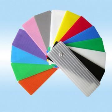 pc阳光板 透明中空蜂窝板 聚碳酸酯蓝色 茶色 抗uv阳光板生产厂家