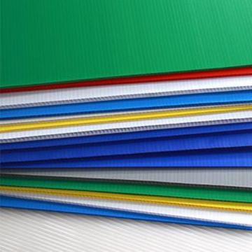 广告瓦楞板彩色2mm中空板防静电
