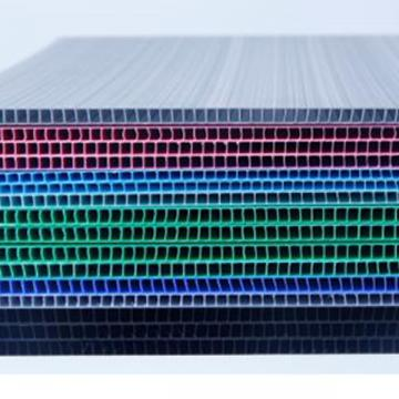 厂家直供4MM中空板 中空板箱 万通板 量大从优 价格优惠