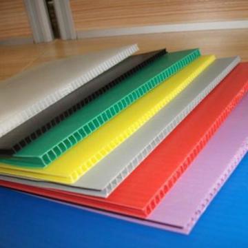 厂家直销塑胶中空板 多色可选中空板 五金包装专用