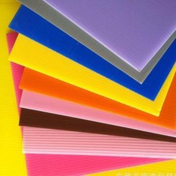 供应pp中空板 塑料中空板 格子塑胶真空板瓦楞板防静电万通板