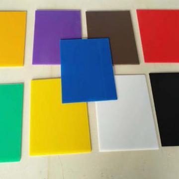 供应环保透明塑料pp板材PP片板黑色隔板塑料垫板PP板加工定制