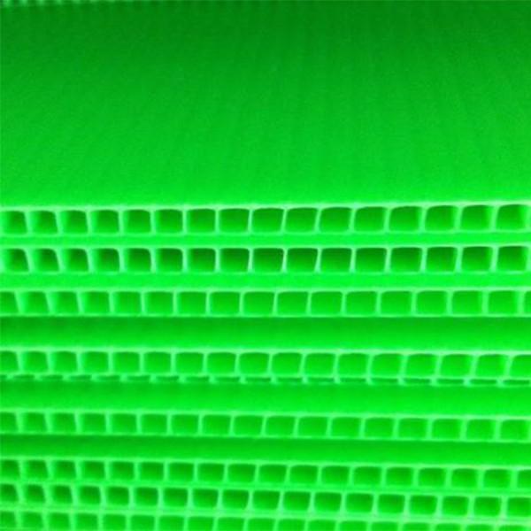 印刷打印加工PP中空板塑胶板彩印广告牌2440*1220